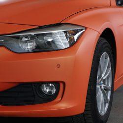 Vollfolierung in Sunkiss Matt Aluminium. BMW F31.