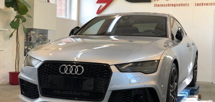 Audi RS7, (Steinschlagschutz für Motorhaube, Stoßstange Vo., Einstiege, Seitenschweller)