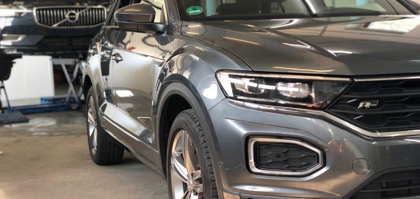 VW T-Roc, (Steinschlagschutz für Motorhaube, Stoßstange Vo., Kotflügel Vo., Einstiege)