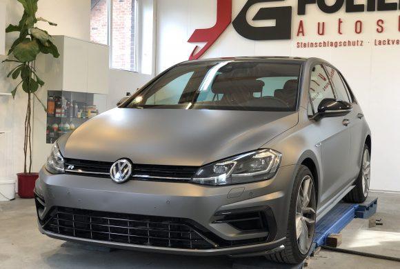 Golf7R, Vollfolierung in Grau