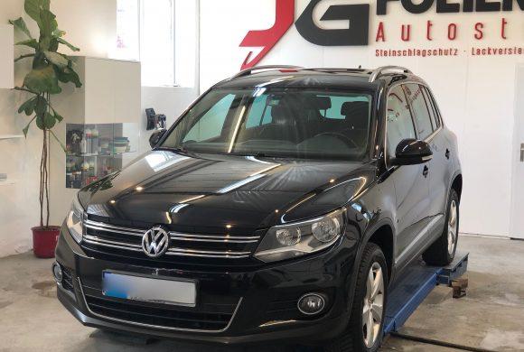 VW Tiguan, Lackaufbereitung