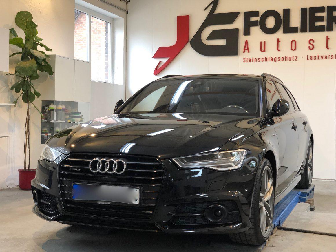 Audi A6, Lackaufbereitung, Lackversiegelung